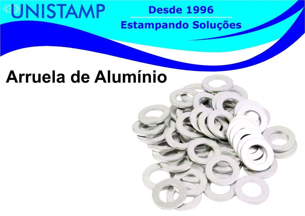 Arruela de alumínio
