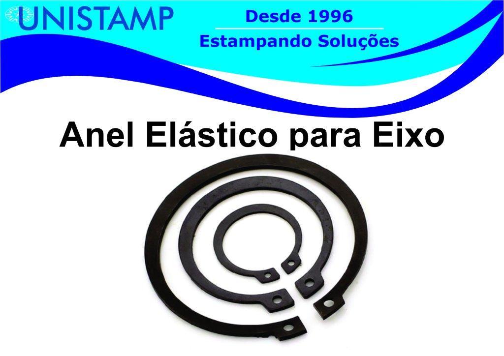 Anel elastico para eixo