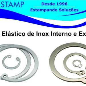 Anel elastico em inox
