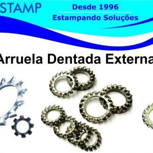 Arruela dentada externa
