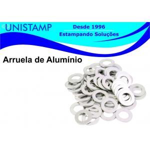 Arruela de aluminio